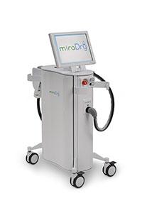 Behandeling met de miraDry tegen overmatig transpireren