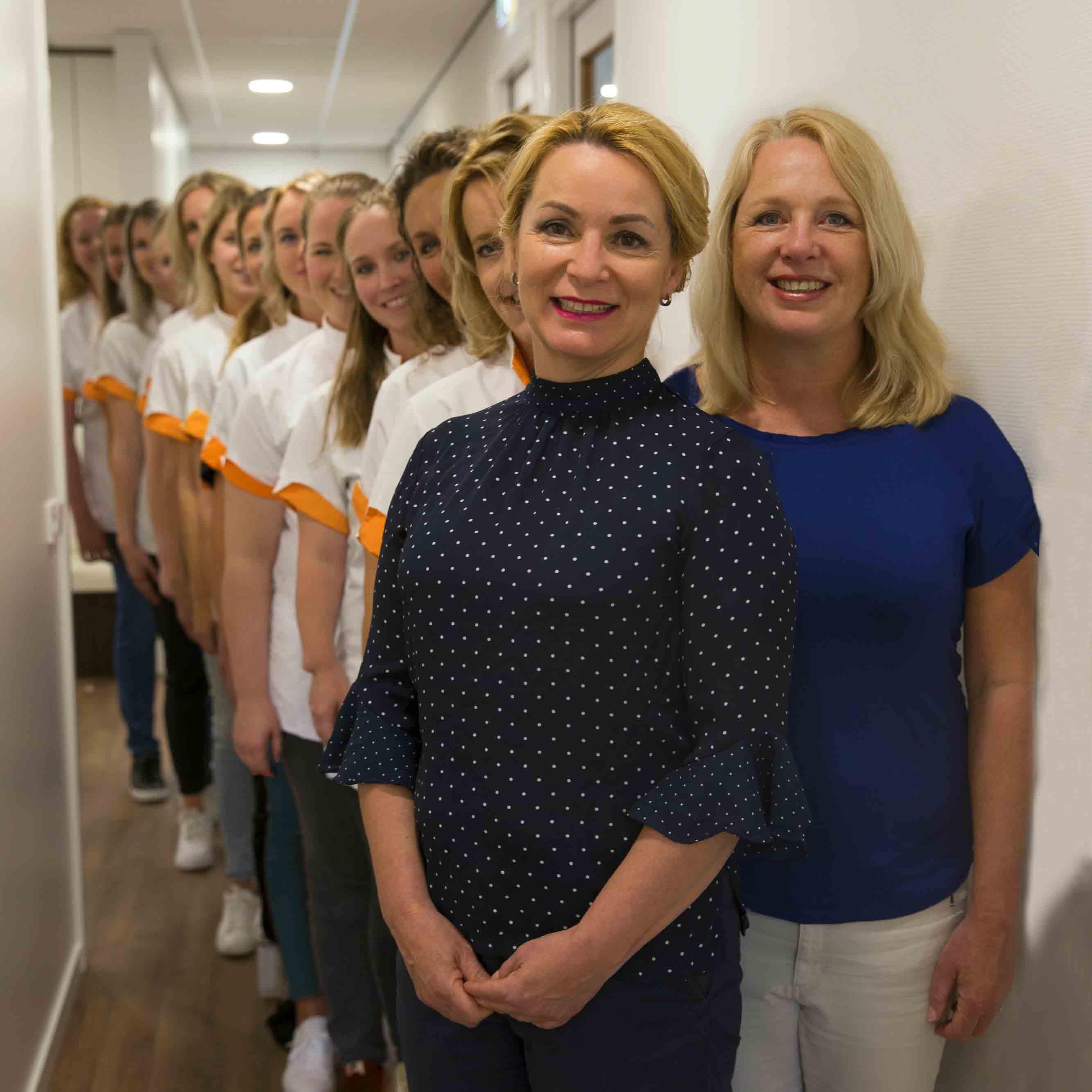 Teamfoto huidtherapeuten MediDerma